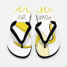 Powered By Bananas Flip Flops