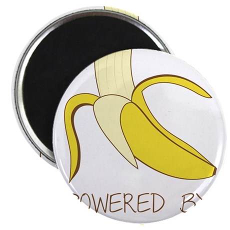 Powered By Bananas Magnet
