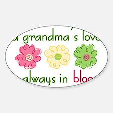 Grandma's Love Decal