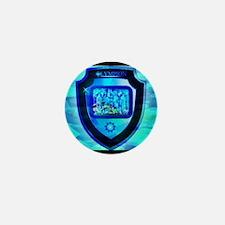Olympian Shield Mini Button