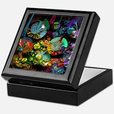 Fractal 3D Bubble Garden Keepsake Box