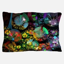 Fractal 3D Bubble Garden Pillow Case