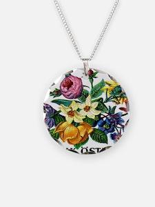 Vintage 1974 Austria Garden  Necklace