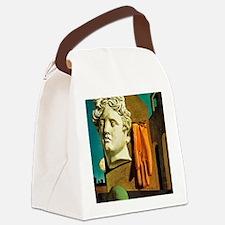 De Chirico Love Song Canvas Lunch Bag