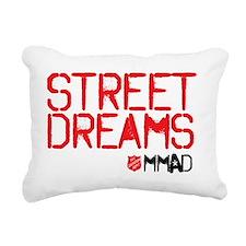 Street Dreams Shirt Rectangular Canvas Pillow
