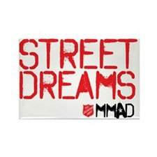Street Dreams Rectangle Magnet