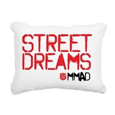 Street Dreams Rectangular Canvas Pillow