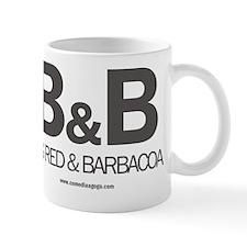 Big Red and Barbacoa White Mug