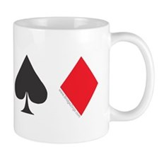 Card Symbols line Mug