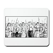 Stripling Warriors White Mousepad