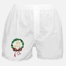 Joy To The World Boxer Shorts