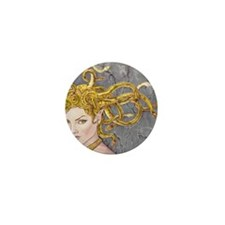 Medusa Mini Button