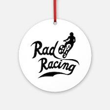 Rad Racing Round Ornament