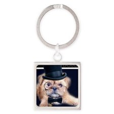 Dolce Dog Square Keychain