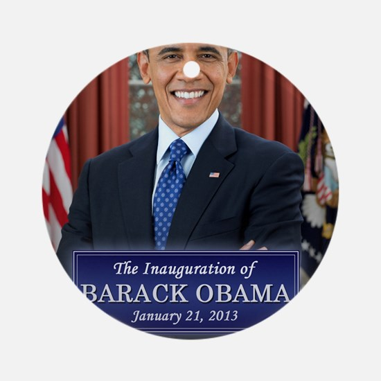 Obama Inauguration 2013 Round Ornament