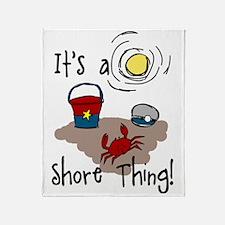 Shore Thing Throw Blanket