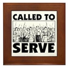 Called to Serve Framed Tile