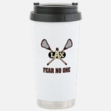 Lacrosse Fear No One Stainless Steel Travel Mug