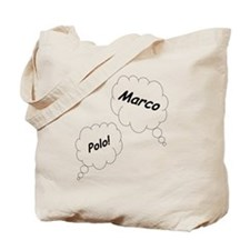 Marco Polo Twin Maternity Shirt Tote Bag