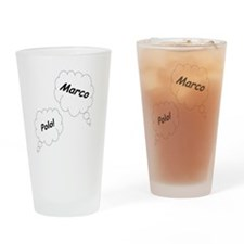 Marco Polo Twin Maternity Shirt Drinking Glass