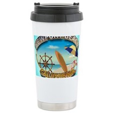 Newport Beach Travel Mug