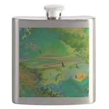 Geese Storm Flight Flask