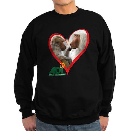 Tilin and Tina Valentine Sweatshirt (dark)
