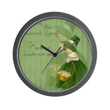 sq_Iron On Wall Clock