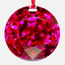 Ruby Ornament