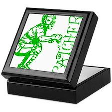 green Catcher sideways Keepsake Box