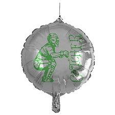 green Catcher sideways Balloon