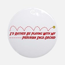 PIO Play Ornament (Round)