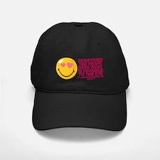 Heart Sees Smiley Baseball Hat