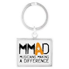 MMAD logo new Landscape Keychain