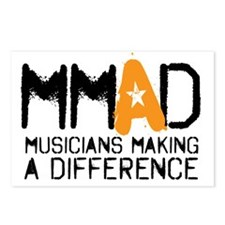 MMAD logo new Postcards (Package of 8)
