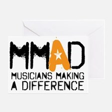 MMAD logo new Greeting Card