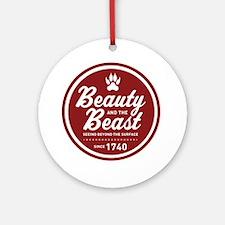 surlalune_logo_color_beast Round Ornament