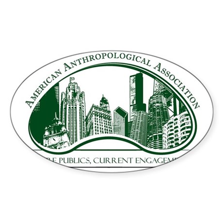 112th AAA Annual Meeting Sticker (Oval)