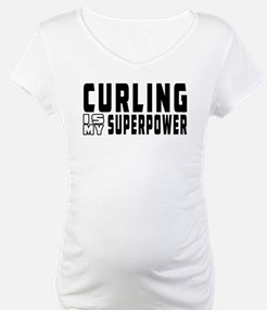 Curling Is My Superpower Shirt