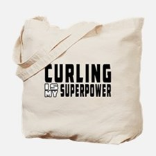 Curling Is My Superpower Tote Bag