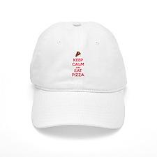 Keep Calm and Eat Pizza 2 Gorra beisbol
