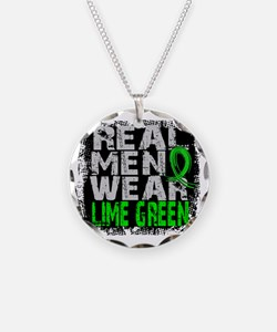 D Non-Hodgkins Lymphoma Real Necklace