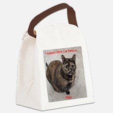 Riley-I support Blind Cat Rescue Canvas Lunch Bag