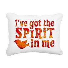 Spirit in Me Rectangular Canvas Pillow
