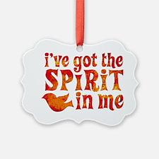Spirit in Me Picture Ornament