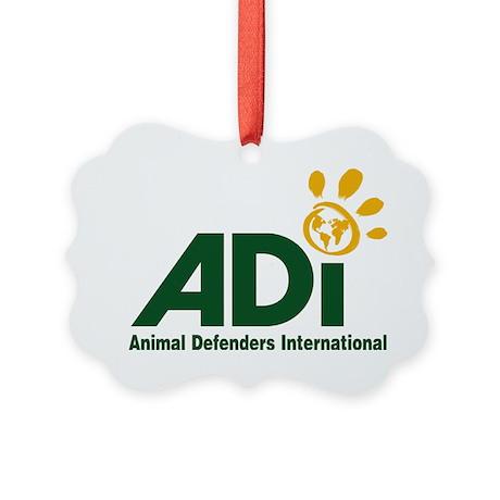 ADI logo Picture Ornament