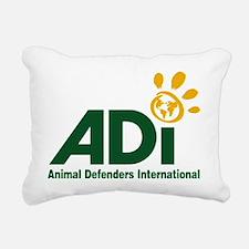 ADI logo Rectangular Canvas Pillow