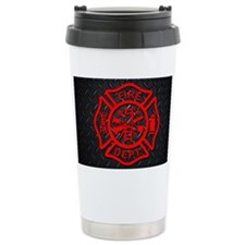 Generic Firefighter Cus Travel Mug