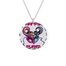 Purim Mask Necklace