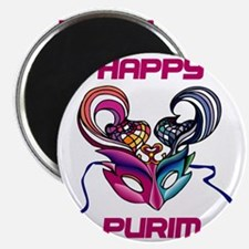 Purim Mask Magnet